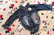 Дитячий джинсовий боді Туреччина