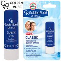 Golden Rose - Бальзам для губ Lip Balm SPF15 Classic (классический)