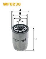 Фильтр топлива PP850/2/WF8238 (производитель WIX-Filtron) WF8238