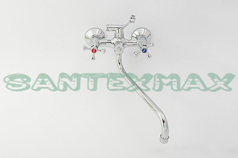 Двухвентильный смеситель для ванны G Ferro 140