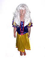 Детский карнавальный костюм для девочки Белоснежка