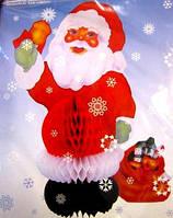 Декор настольный объемный Дед Мороз 27см