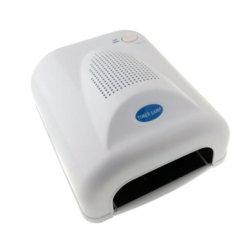 УФ лампа для наращивания ногтей с вентилятором 36W Simei -703.