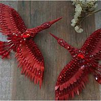 Красный журавль