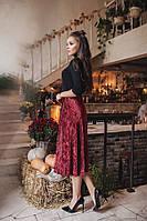 КТ204 Женская юбка плиссе