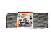 Посудомоечный коврик повышенной впитываемости (серый) Smart Microfiber|Оригинаяльная продукция из Швеции