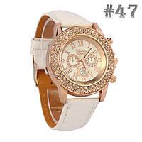 Женские часы белого цвета Geneva (47)