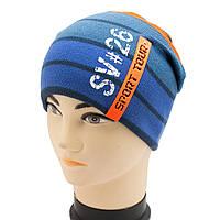Спортивная подростковая шапочка