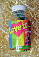Жевательные конфеты Love is банка счастья