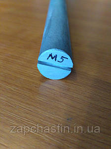 Анод магнієвий Італія М5, L-200, ніжка коротка