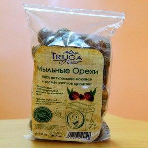 Мыльные орехи 100 грамм, с мешочком для стирки и инструкцией
