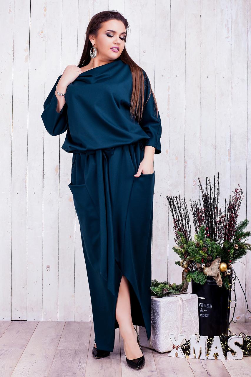 Женское стильное платье 8209 (46-60)