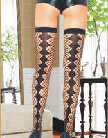 Эротичные чулки Fashion Stockings 6040