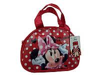 Красная детская сумка с Минни