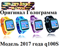 Q100s (q750) Детские умные смарт часы-телефон с GPS трекером Smart Baby Watch