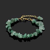 Браслет с натуральными камнями «Изменчивый авантюрин»
