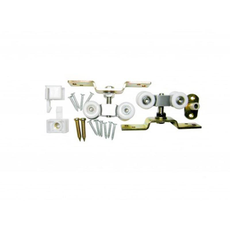 Комплект роликов для раздвижных дверей  100 кг KEDR ESW033-100