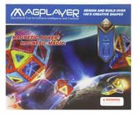 Детский магнитный конструктор magplayer mpb-30 на 30 элементов
