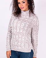 Молодежный свитер меланж (в расцветках)