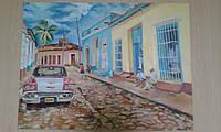 Картина «Кубинское настроение»