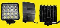 Дополнительные светодиодные фары дальнего света  29-48W Yellow