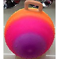 Мяч для фитнеса ND107 ассорти, гири с шипами, 55см