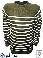 Мужской джемпер зеленый Fat Face свитер пуловер p. M