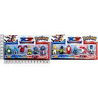 Герои POKEMON GO 16076 6 героев, 2 вида, на планш 14,5*8 см