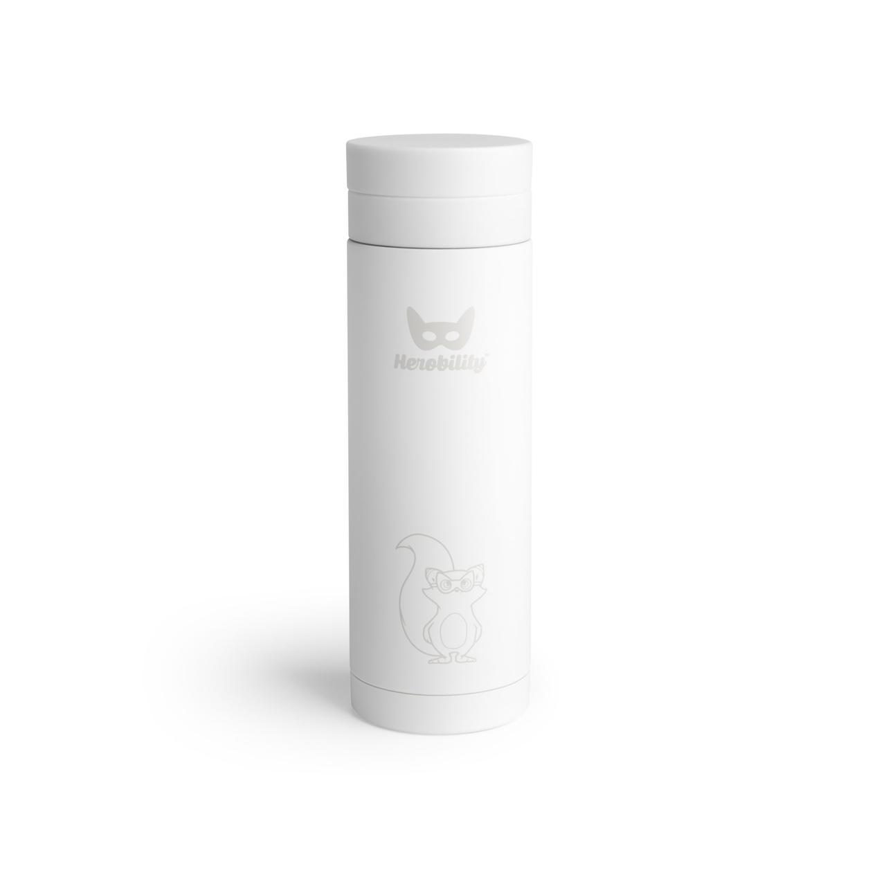 Herobility - Термос HeroTermos 300 мл, цвет белый