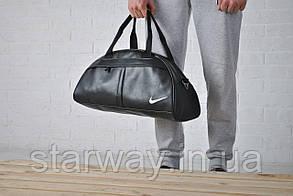 Сумка Nike logo белая вышивка