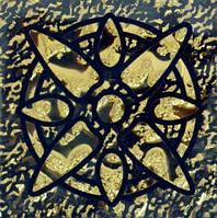 Вставка напольная Grand Kerama золото