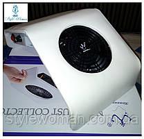 Вытяжка пылесос Konsung Beauty для маникюрного стола 30вт WN 208-2 белая