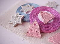 """Керамический декор """" Колокольчик розовый"""", фото 1"""