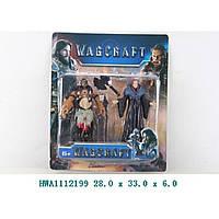 Герои WARCRAFT 830305 , 2 фигурки, аксесс., на планш. 28*33*6 см