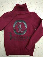 Детский стильный теплый свитер на мальчика 92