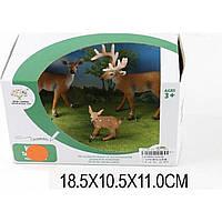 Животные X1036 Олени,3 шт в кор.18,5*10,5*11см