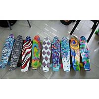 Скейт SK17101 металл.крепление,колеса PU, 53*15*9 см,7 цветов