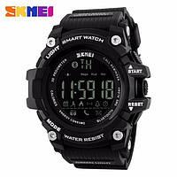 Оригинальные Smart часы Skmei 1227 Black | Cмарт Bluetooth | Спортивные мужские часы, фото 1