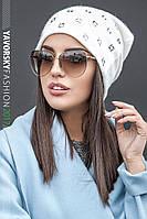 Симпатичная женская шапочка Лилия