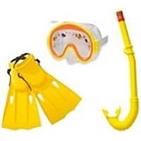 Набор для плавания 55954 , желтый
