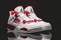 Кроссовки баскетбольные мужские Air Jordan IV Retro 89 (кроссовки баскетбольные), красно-белые