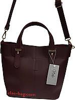 Женская сумка с цветным ремешком, фото 1
