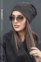 Оригинальная женская шапочка Лилия