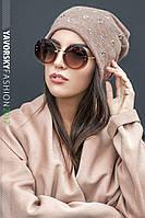Креативная женская шапочка Лилия