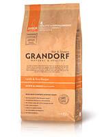 """Сухой низкозерновой корм """"Grandorf ягненок с рисом"""" 28/17 (для юниоров всех пород) 3 кг"""