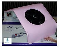 Вытяжка пылесос Konsung Beauty для маникюрного стола 30вт WN 208-2 розовая, фото 1