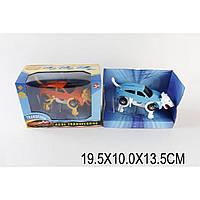 Заводная машина-трансформер JD-908A 1 вид , в коробке 19,5*10*13,5см