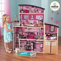 Кукольный домик с мебелью Блеск  KidKraft 65826 , фото 1