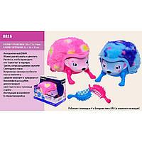 Интерактивный Ежик Zoomer Hedgiez Flip 8816 бат., 2 цвета микс, в коробке 17*16*13см