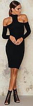 Плаття футляр чорне